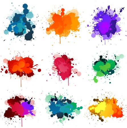 Paint splat