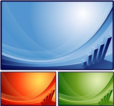Vektor für Abstract financial background - Lizenzfreies Bild