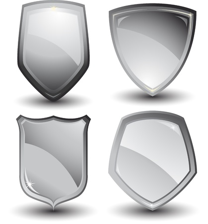 metallic shield design