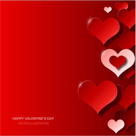 Modern valentine\'s day background