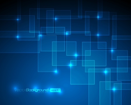 Foto de EPS10 - Virtual Technology Vector Background - Imagen libre de derechos