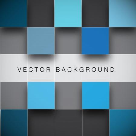 Illustration pour Seamless blocks structure vector background - image libre de droit