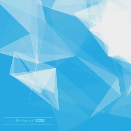 Foto de Abstract Geometric Background for Design   EPS10 Illustration - Imagen libre de derechos