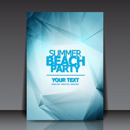 Design for Summer Party Flyer