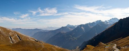 A panormaic view from Colle dellAgnello Italy