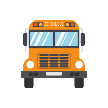 Illustration for School Bus. Vector illustration - Royalty Free Image