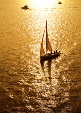 sailboat sailing sailing at