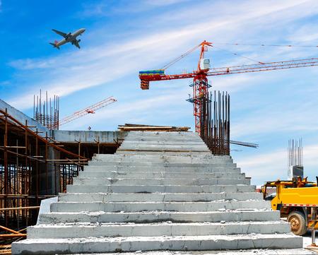 Photo pour construction site - image libre de droit