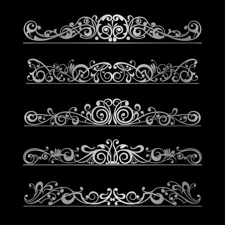 Foto de Elements page decoration vector design - Imagen libre de derechos