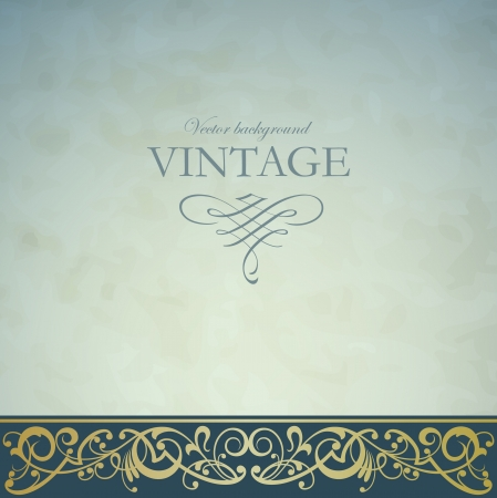 Illustration for Vintage vector background - Royalty Free Image
