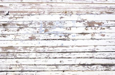 Rustic White Wooden Panels