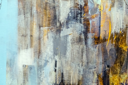 Painted canvas fragment, abstract art painting detail texture background