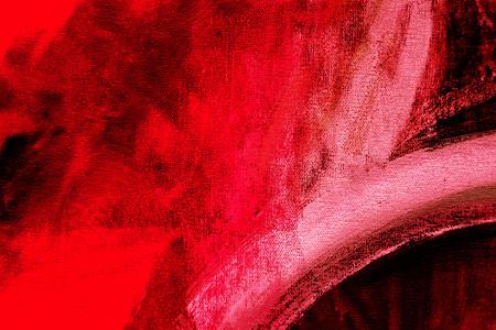 Photo pour Painted canvas fragment, abstract art painting detail texture background - image libre de droit