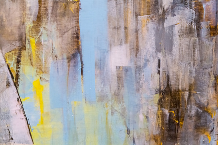 Foto de Painted canvas fragment, abstract art painting detail texture background - Imagen libre de derechos