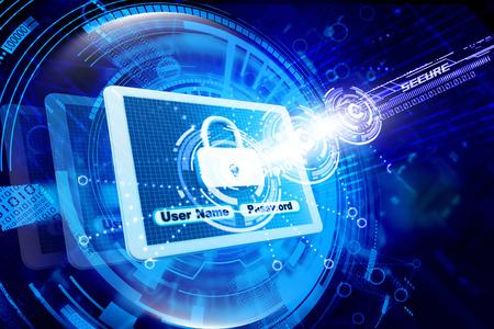 Photo pour Internet security - image libre de droit