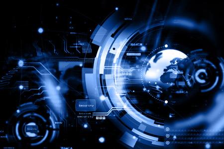 Photo pour Global network connection - image libre de droit
