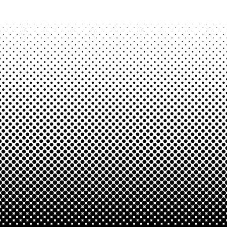 Illustration for Black halftone pattern. Vector illustration - Royalty Free Image
