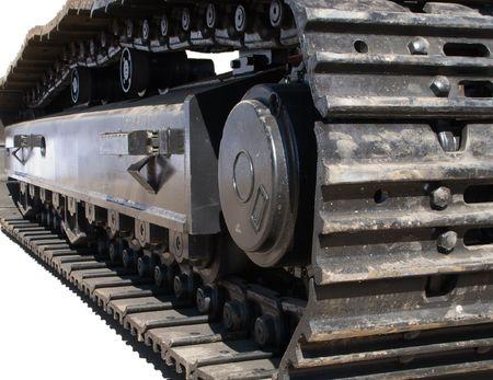 Construction caterpillar machine mover equipment