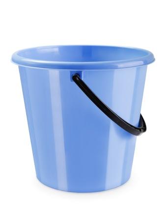 Empty housework equipment plastic bucket container