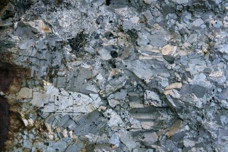 Grey background of raw chrome