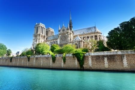 Foto de Notre Dame  Paris, France  - Imagen libre de derechos