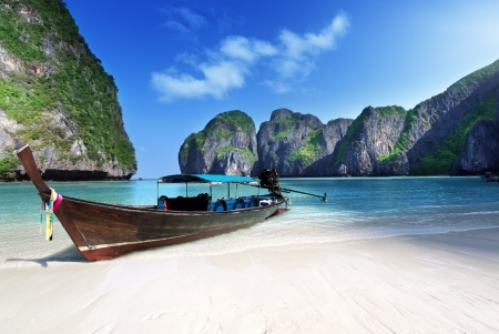 Photo for Maya bay Phi Phi Leh island, Thailand - Royalty Free Image