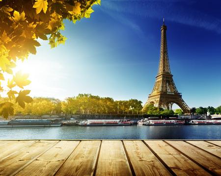 Photo pour autumn in Paris - image libre de droit