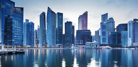 Foto de Cityscape Singapore - Imagen libre de derechos