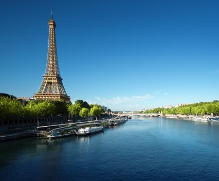 Photo pour Eiffel tower, Paris. France - image libre de droit