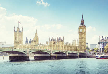 Foto für Big Ben and Houses of Parliament, London, UK - Lizenzfreies Bild