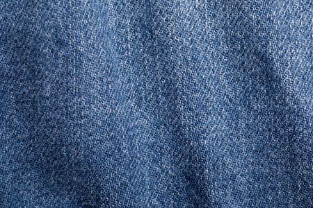 Foto de Close up shot of denim jeans texture - Imagen libre de derechos