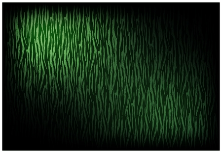 Illustration of Beautiful Green Vintage Texture Wallpaper Background with Distressed Scratch Pattern for Add Content or Picture.