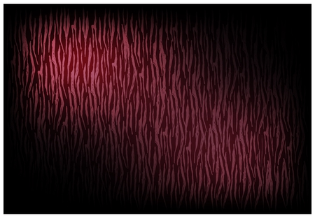 Illustration of Beautiful Red Vintage Texture Wallpaper Background with Distressed Scratch Pattern for Add Content or Picture.