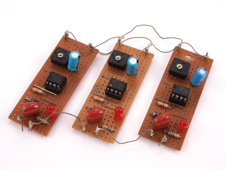 Electronic circuit board used in a computer