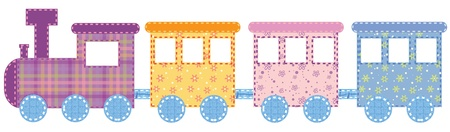 Photo for Babies train - Royalty Free Image