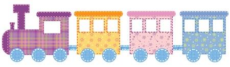 Foto de Babies train - Imagen libre de derechos