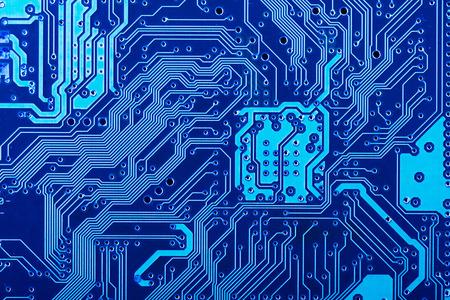 Photo pour Solder side of electronic printed circuit board - image libre de droit