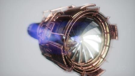 Photo pour jet engine turbine parts - image libre de droit