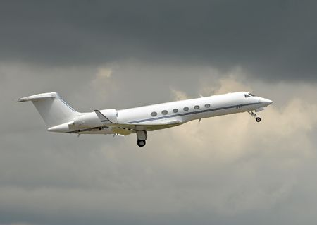 Luxury private jet for charter service