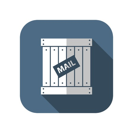 mail cargo vector icon