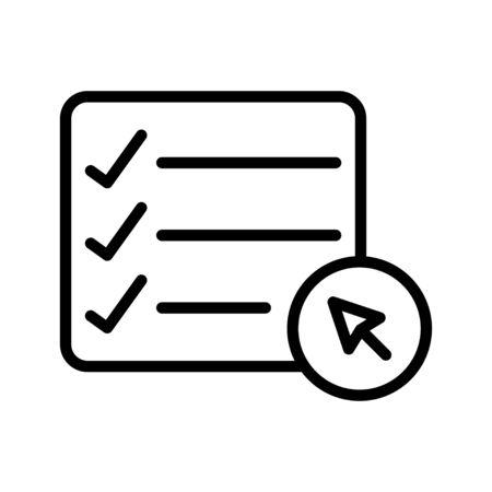 Illustration pour task list - image libre de droit