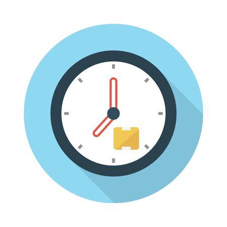 Illustration pour clock icon - image libre de droit