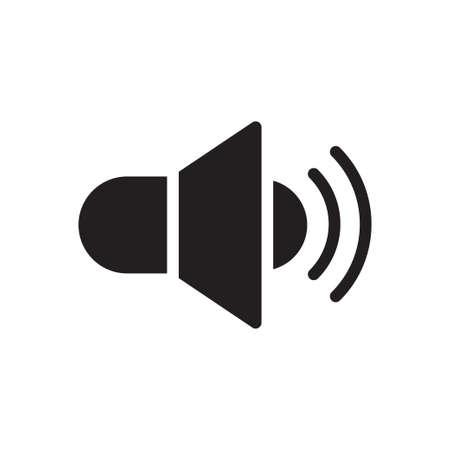 Illustration for sound icon for website design and desktop envelopment, development. Premium pack. - Royalty Free Image