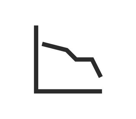 Illustration pour Finance icon outline and linear vector. - image libre de droit