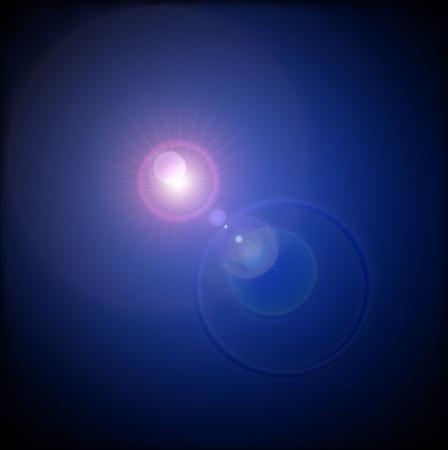 Lens FlareOriginal Vector Illustration
