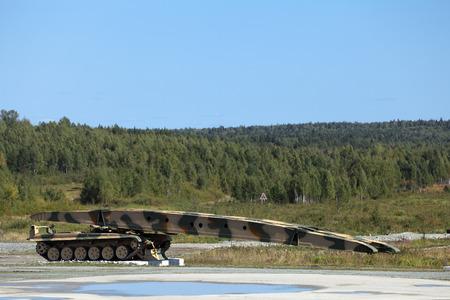 Armoured vehicle-launched bridge (AVLB)