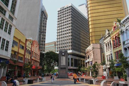 Kuala Lumpur, Malaysia - April 5, 2013: Located at the Old Market Square in Kuala Lumpur