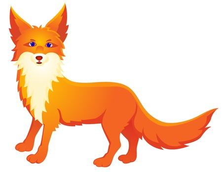 Foto für Red fox cartoon  - Lizenzfreies Bild