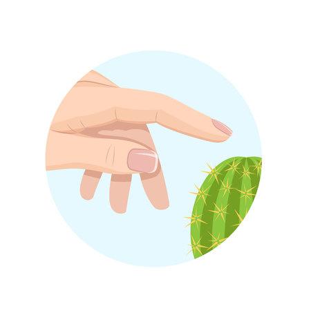 Human sense organ . Skin touches watermelon to environment, tactile sensations.