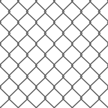 Seamless Wire Mesh. Net. Cage. Vector illustration